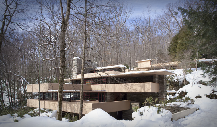 Frank Lloyd Wright's Fallingwater designed in 1935.
