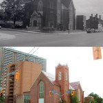 Central United Church, King St., south east corner Weston Rd., Toronto, Ont. (1953)