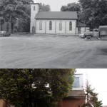 St. John The Evangelist Roman Catholic Church, George St. (Weston), north east side, south of Fern Ave., Toronto, Ont. (20 June 1955)